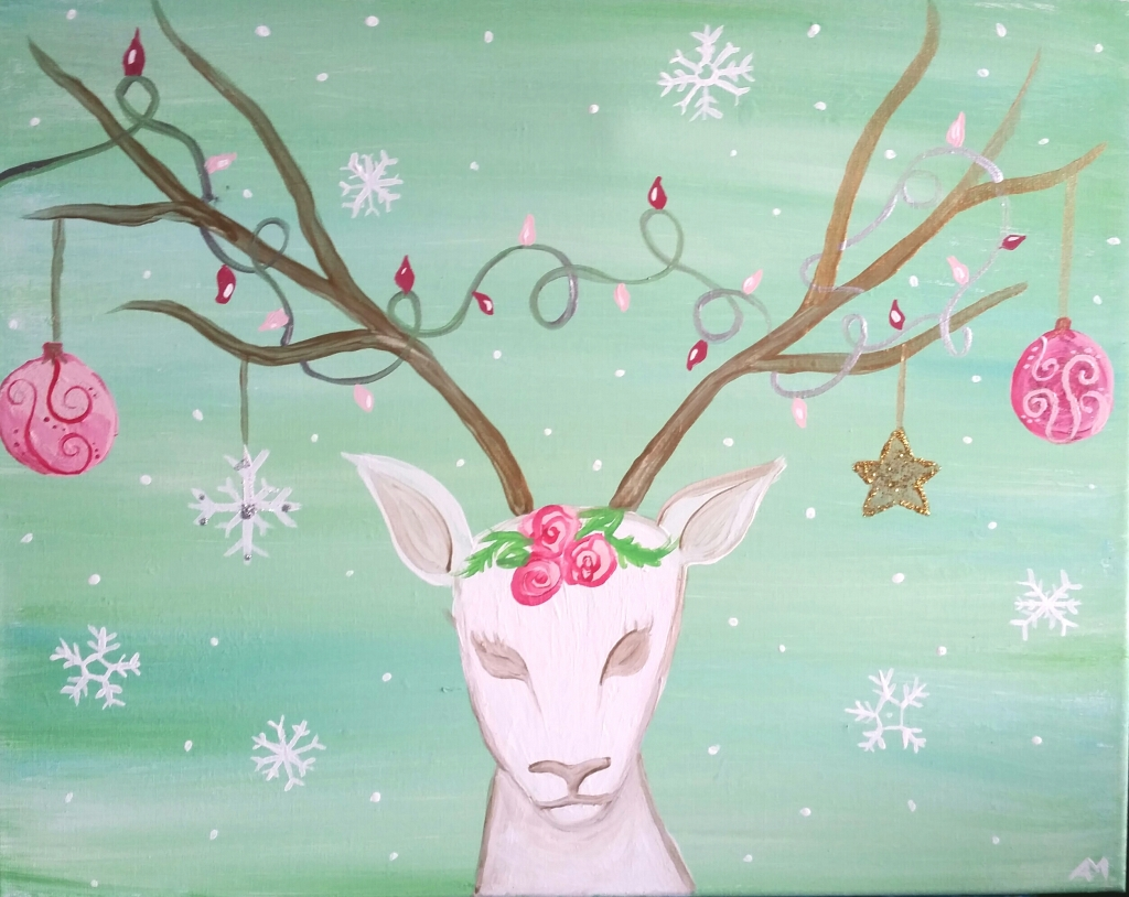 So many ways to customize this painting to make it your own!